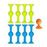 KEXIMIXUE Puzzle Sticky Toy Jouets de Ventouse Extérieur Jeux compétitifs Jeux interactifs de fête de bâton d'aspiration Famille Super Populaire Jouet...