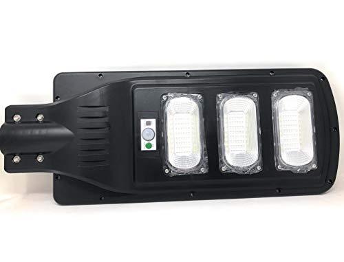 FARO LED LAMPIONE STRADALE FOYU LUCE FREDDA ENERGIA SOLARE CON TELECOMANDO (90 WATT)