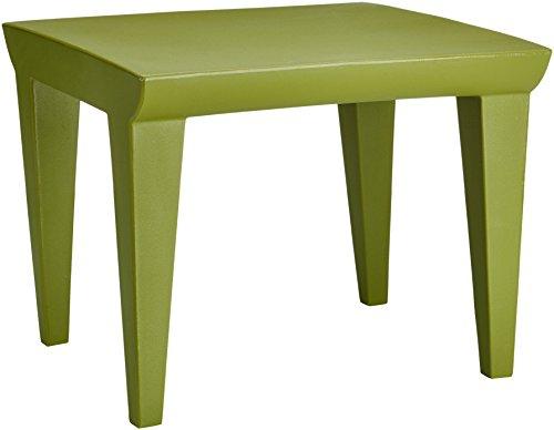 Kartell Bubble Club Tavolinetto, polietilene, Verde, 52 x 41x 52 cm