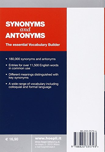 Synonyms-and-Antonyms-English-Dictionary-The-essential-Vocabulary-Builder-Lingua-inglese