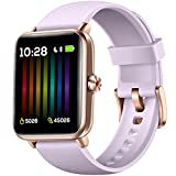 Hamile Smart Watch for Android Phones Compatible with iPhone, Fitness Watch with Heart Rate Monitor,...