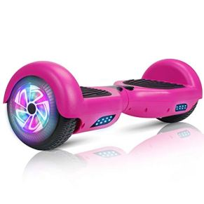 """YHR 2 Wheels 6.5"""" Self-Balancing Hoverboard for Kids and Adults, Smart Self Balancing Electric Scooter with -Charger-LED…"""