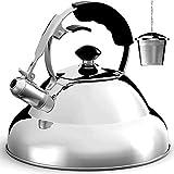 Tea Kettle Stovetop Whistling Tea...