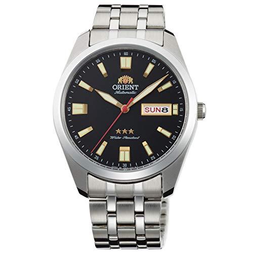 Orient Unisex Erwachsene Analog Automatik Uhr mit Edelstahl Armband RA-AB0017B19B