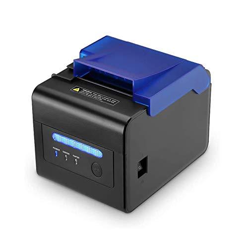 [ 80mm Stampante Termica] Stampante Termica Diretta Speciale per la Cucina EU MUNBYN AUTO-CUT Stampante Portatile di Ricevimento Termico 300mm / sec/USB Seriale/ESC/POS