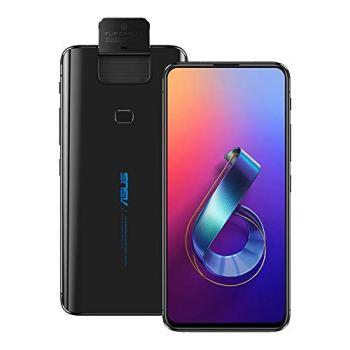 ASUS ZenFone 6 (ZS630KL) 6.4 inchs with 6GB RAM / 128GB Storage, (GSM ONLY, NO CDMA) Factory Unlocked International Version No-Warranty Cell Phone (Midnight Black)