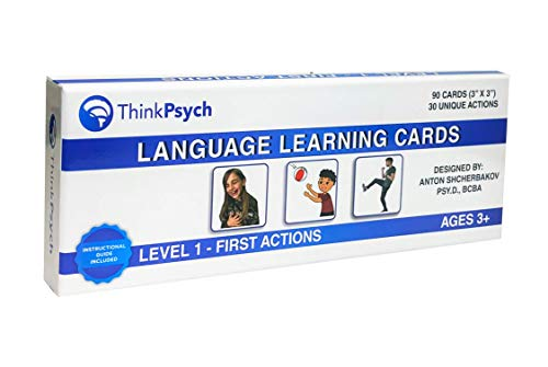 THINKPSYCH Verb Flash Cards | 90 Multicultural Action...