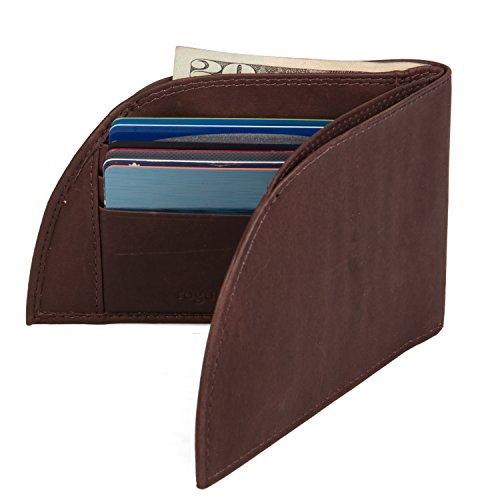 Front Pocket Men's Leather Wallet -...