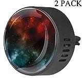 Magic Galaxy Space Stars Universe Diffusore di deodorante per auto in EVA per aromaterapia, diffusore di oli essenziali, frutto della passione floreale