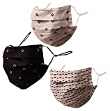 Touchstone Indian Heritage Fabric Adjustable Filter Pocket Nose Bridge Double Layer Cotton face mask...