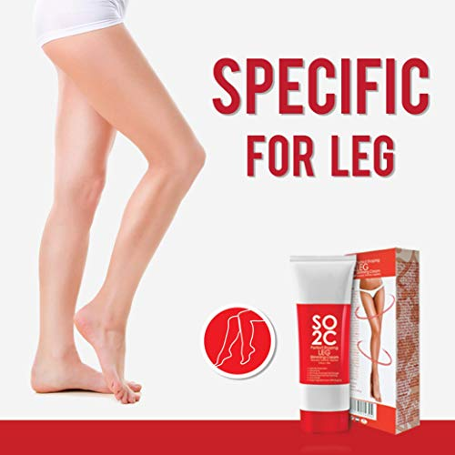 Anti Cellulite Remover Cream by SO2C | All-Natural Anti-Cellulite & Skin Firming, Tightening, Toning, Slimming & Thermogenic Cream | Tightening and Slimming for Legs, Thighs, Hip & Buttocks | Set of 3 3