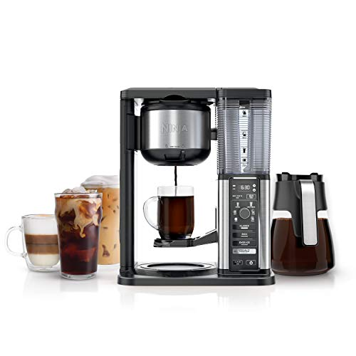 Ninja 10-Cup Specialty Coffee Maker, with 50 Oz Glass Carafe, Stainless Steel