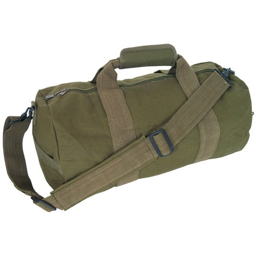 Fox Outdoor Products Canvas Roll Bag, Olive Drab, 12 x 24-Inch