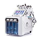 Hydrogen Oxygen Facial Beauty Machine 6 in 1 Multifunctional Vacuum Face Cleansing Machine Profession Skin Rejuvenation Small Bubble Device