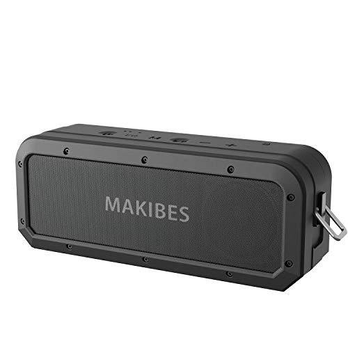 Makibes Cassa Bluetooth, Altoparlante Bluetooth Portatile 40W, Bassi Potenti, TWS, Microfono...