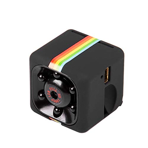 KKmoon Mini Macchina Fotografica per Auto HD Telecamera Nascosta DVR Registratore DV Videocamera per Visione Notturna, Nero