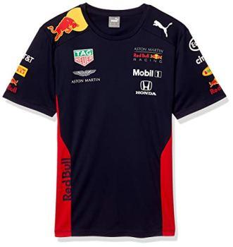 Fuel For Fans Men's Formula 1 Aston Martin Red Bull Racing 2020 Team T-Shirt, Navy, L
