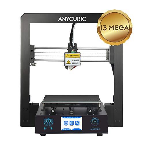ANYCUBIC Stampante 3D i3 Mega-S Dimensioni di stampa 210 x 210 x 205mm equipaggiata con piatto di stampa Ultrabase e Display Touchscreen da 3,5 per TPU PLA (Mega)