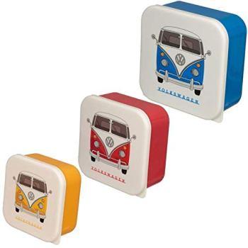 Set of 3 Lunch Boxes - Volkswagen VW T1 Camper Bus M/L/XL