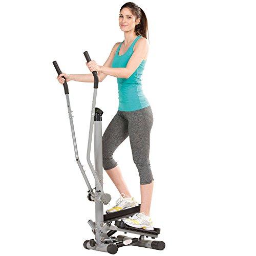 maxVitalis Side Stepper für Zuhause, Fitnessgerät für gelenkschonendes Training, Ausdauertraining &...