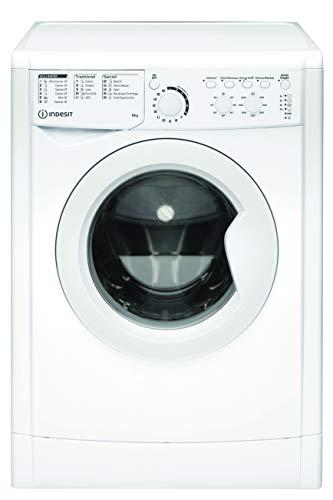 Indesit EWC 61051 W IT N, Lavatrice a carica frontale, 6 KG, F, 1000 GIRI/MIN