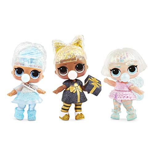 Image 3 - MGA- Poupée L.O.L. Surprise Glitter Globe de la série Winter Disco avec Cheveux Scintillants Toy, 561613, Multicolore