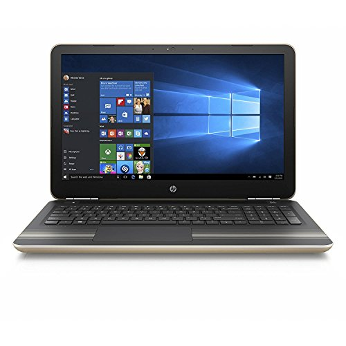 2016 HP Pavilion 15.6 Inch Flagship Laptop Computer (Intel Core i5-6200U up to 2.8GHz, 4GB RAM, 1TB HDD, DVD, Wifi, Windows 10 Home) (Renewed)