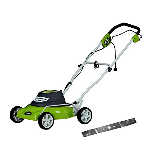GREENWORKS 25012 Corded Electric Lawn Mower
