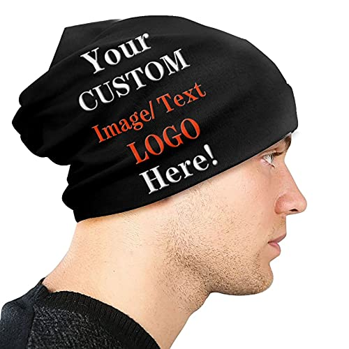 Custom Beanie Hat Personalized Customization with Your...