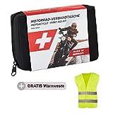 Trousse de Secours pour Moto GoLab - Petite et compacte, kit de Premiers Soins pour Motards Conforme...