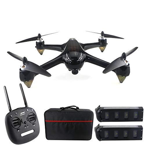 Drone 8.0 MP, 5G WiFi GPS Motore brushless, 1080P 160  Grande grandangolare HD FPV Remote Drone, seguimi Via/Un Pulsante di Ritorno, 2 batterie Adatte per Principianti Adulti