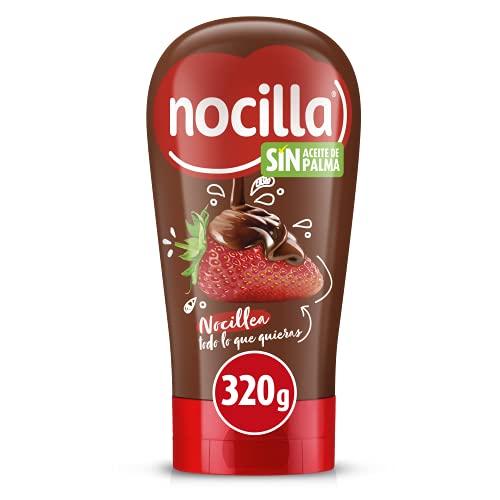 Nocilla Original Crema al Cacao con Avellanas, Bocabajo, sin