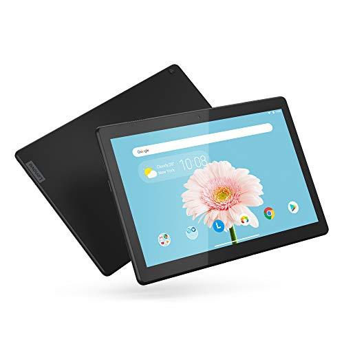 Lenovo Tab M10 HD 10.1' Tablet, Android 9.0, 16GB Storage, Quad-Core Processor, WiFi, Bluetooth, ZA4G0000US, Slate Black