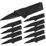 Garberiel 10 Pack Credit Card Knife Multifunction Folding Blade Knives,...