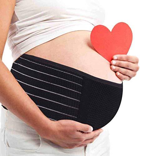 AIWITHPM Fascia Gravidanza Cintura di maternit Sostegno Supporto Premaman Aiuta con Dolore Lombare...