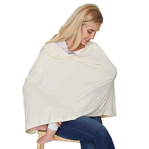 Photo de echarpe-dallaitement-pour-bebe-servant-aussi-de-foulard-de-marque-neotech-care-couverture-large-pour-allaiter