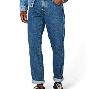 Wrangler-Mens-Texas-Tapered-Jeans-36W-x-32L-Vintage-Stonewash