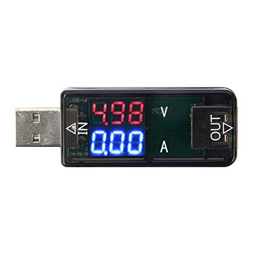 Oak-Pine USB Digital Multimeter Tester 3.2-10V 3A...