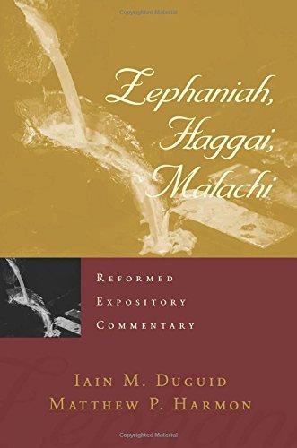 Image of Zephaniah, Haggai, Malachi (Reformed Expository Commentary) (Reformed Expository Commentaries)
