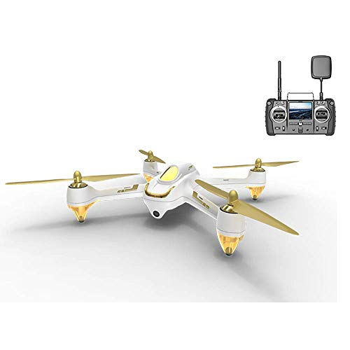 Hubsan H501S X4 Brushless Droni GPS 1080P HD Fotocamera FPV con H906A Trasmettitore Bianco PRO...