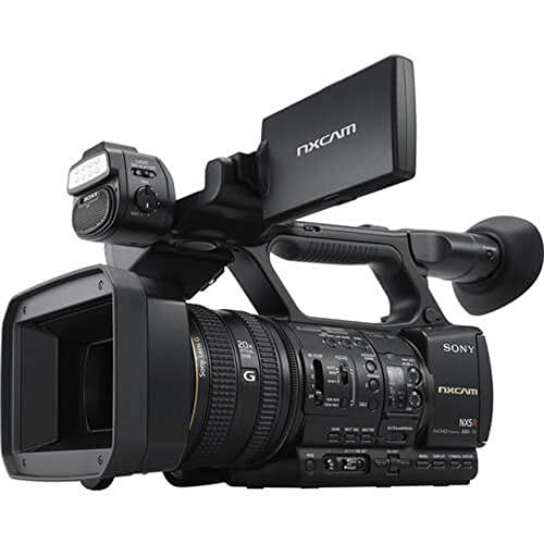 Sony HXRNX5R Full-HD Compact Camcorder 3CMOS with Latest Technology, 3', Black