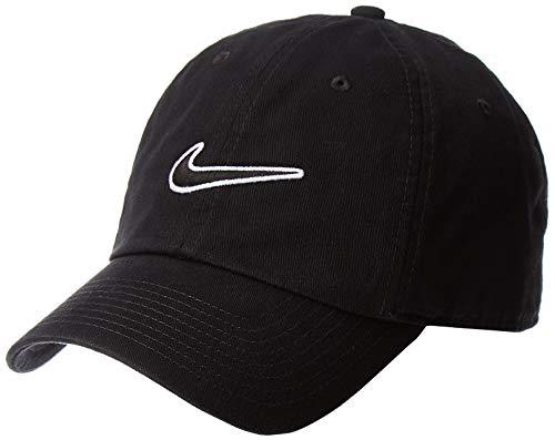 Nike U Nk H86 Cap Essential Swsh, Cappellino da baseball Unisex adulto, Nero Black 010, Taglia unica