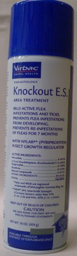 Virbac Knockout E.S. Area Treatment Carpet Spray, 16-Ounce