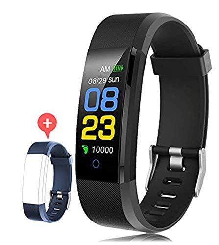 F-FISH Pulsera Actividad Inteligente Pantalla Color Reloj con...