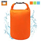 ioutdoor Waterproof Dry Bag Dry Sack 5L/ 10L/ 20L/ 40L/70L,Roll Top Lightweight Heavy Duty Dry Storage Bag for Travelling Hiking Camping Gym Yoga Kayaking Fishing Snowboarding(Orange, 70L)