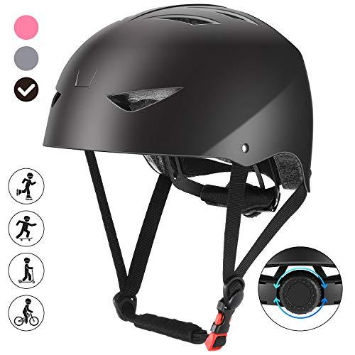 ValueTalks Fahrradhelm Kinder Skaterhelm Jugendhelme Unisex Helm für Radsport Inliner Skateboard Fahrrad Rollschuh