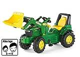 rolly toys - 71 002 7 - Tracteur À Pédales - Rollyfarmtrac John Deere 7930 + Pelle Avant