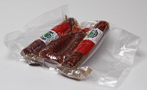 chorizo dulce, salchichón vela(300 gr/ud) y morcilla calaba