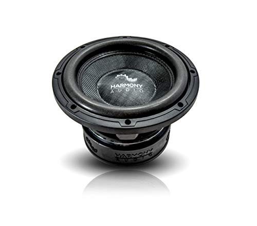 Harmony Audio HA-C102 Car Stereo Competition Carbon 10' Sub 2000W Dual 2 Ohm Subwoofer New