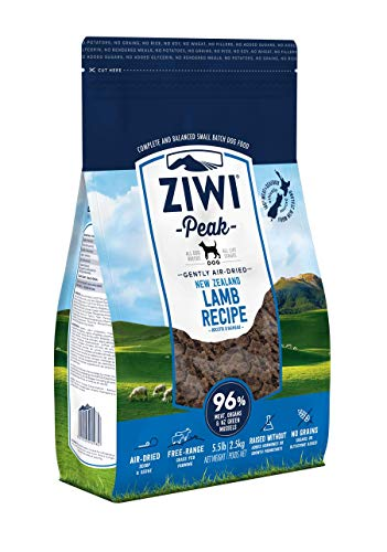Ziwi Peak Air-Dried Lamb Dog Recipe Dog Food (5.5lb), ZCDL2500PUC
